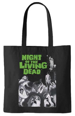 Night of the Living Dead - Movie Poster Tote Bag Sacola