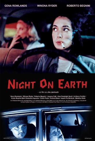 Night on Earth - Swedish Style Poster