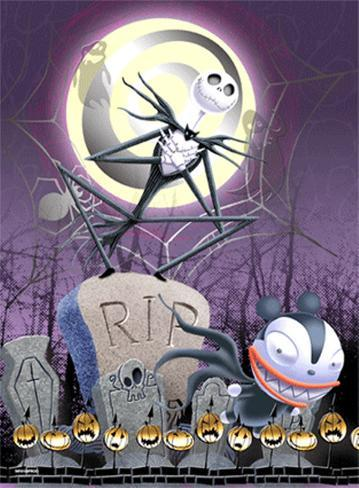 Nightmare Before Christmas 3-D 3 Dimensional Poster