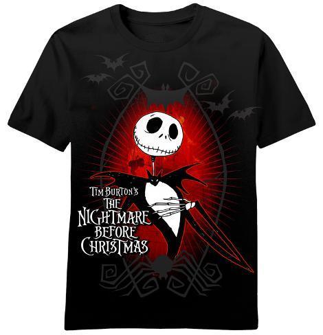 Nightmare Before Christmas - Dark Love T-Shirt