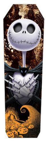 Nightmare Before Christmas Movie Jack Skellington Shakemarks Bookmark Bookmark