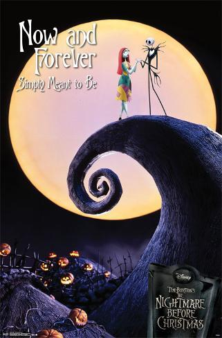 Nightmare Before Christmas - Now and Forever Pôster