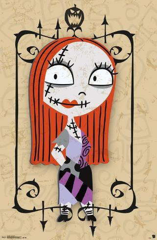 Nightmare Before Christmas- Sally Madness Poster