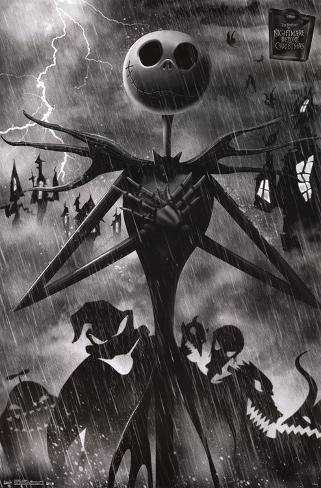 Nightmare Before Christmas - Shadows Poster
