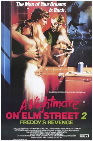 Nightmare on Elm Street 2: Freddy's Revenge Masterprint