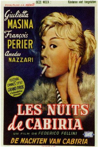 Nights of Cabiria Masterprint