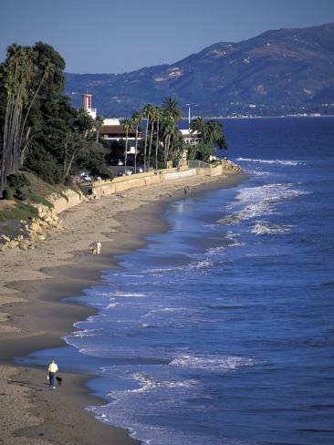 Butterfly Beach, Santa Barbara, California Photographic Print