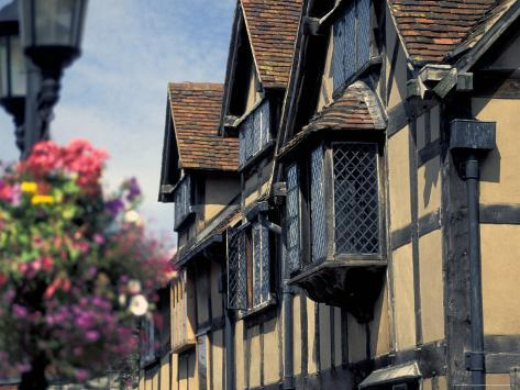 Shakespeare's Birthplace, Stratford-on-Avon, England Photographic Print