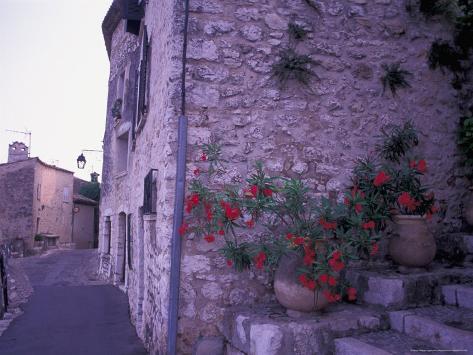 St-Paul-De-Vance, Nice, Cote D'Azur, France Photographic Print