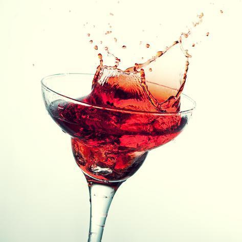Splashing Margarita Cocktail Valokuvavedos