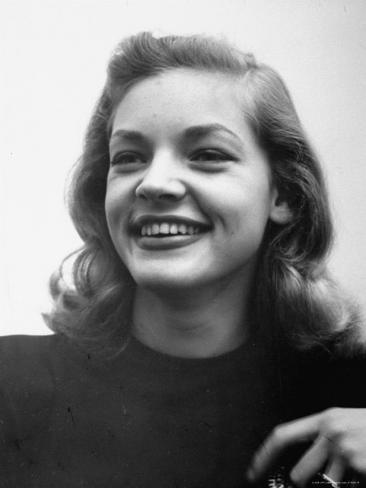 Actress Lauren Bacall at Gotham Hotel Premium Photographic Print