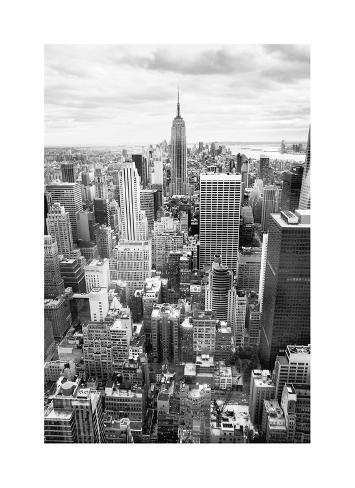 NYC Downtown Giclee Print