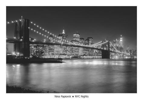 NYC Nights Art Print