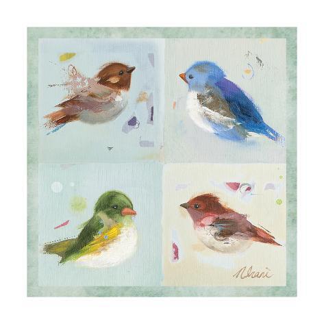 Birds II Art Print