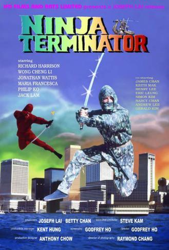 Ninja Terminator - Hong Style Poster