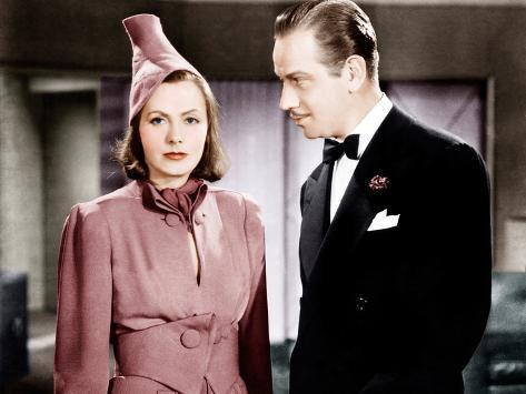 NINOTCHKA, from left: Greta Garbo, Melvyn Douglas, 1939 Foto