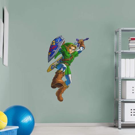Nintendo Legend of Zelda Link RealBig Wall Decal
