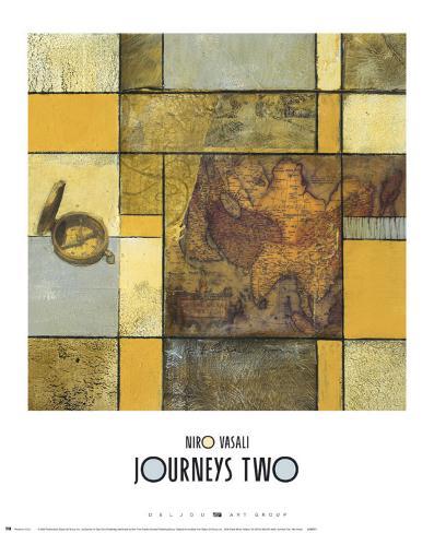 Journeys II Art Print