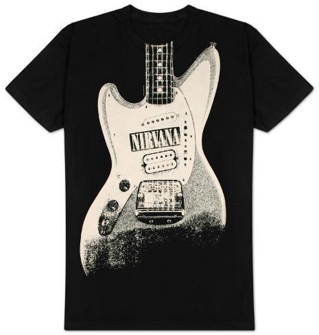 Nirvana - Guitar Discharge T-Shirt