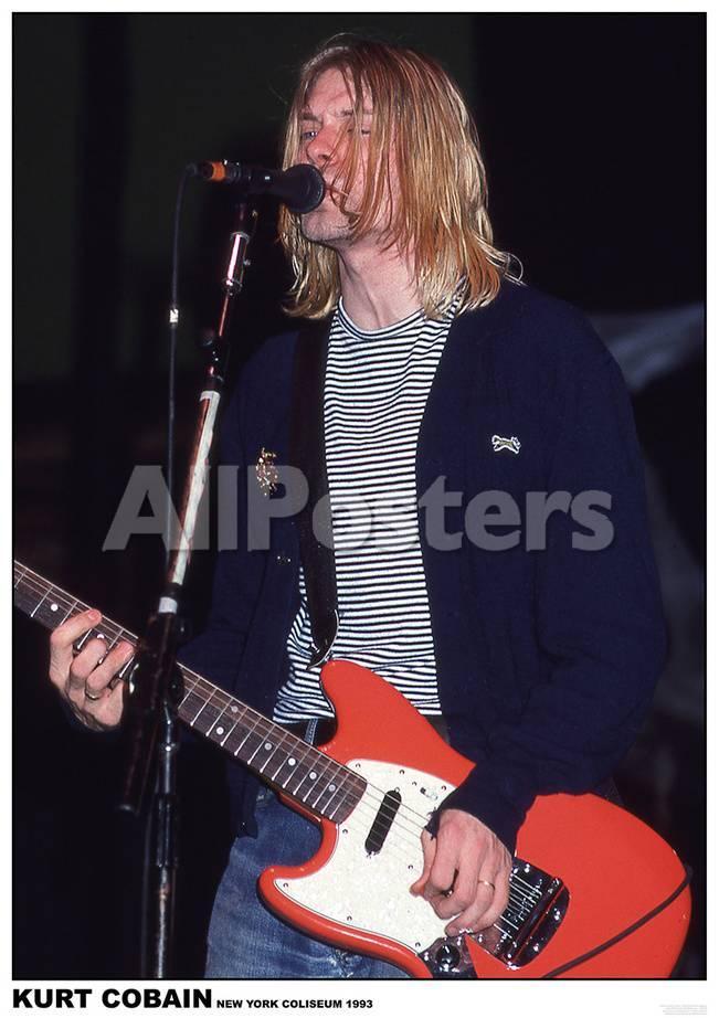 Nirvana: Kurt Cobain Pósters en AllPosters.es