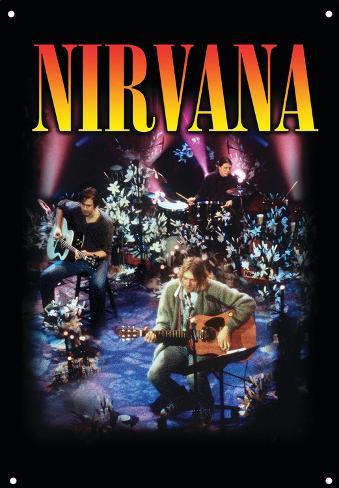 Nirvana - MTV Live Tin Sign - AllPosters.co.uk