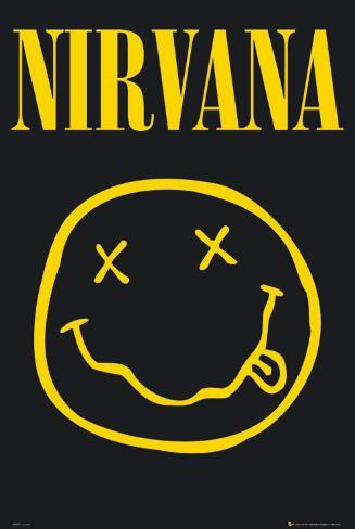 Nirvana - Smiley Poster
