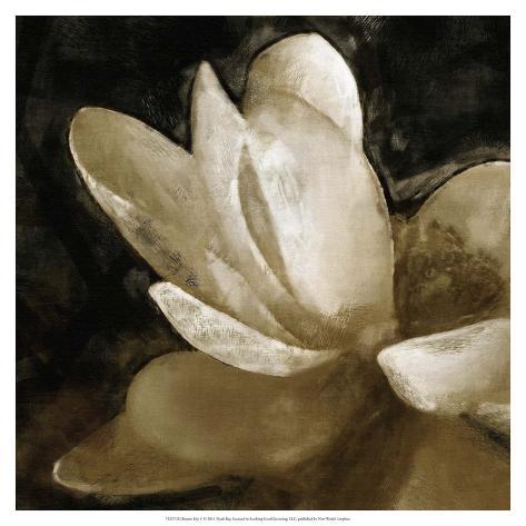 Bronze Lily V Art Print