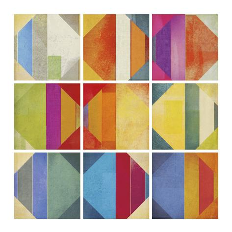 Pattern Tiles II Art Print