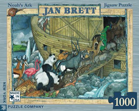 Noah's Ark 1000 piece Puzzle Jigsaw Puzzle