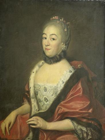 Sandrina Van Den Broecke, Wife of George Lodewijk Matthes Art Print