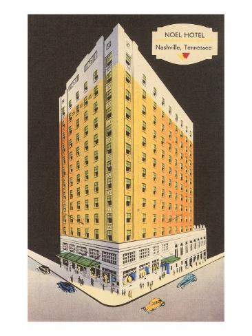 Noel Hotel, Nashville, Tennessee Art Print