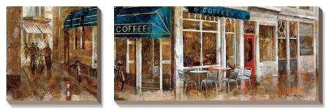 Coffee Canvas Art Set