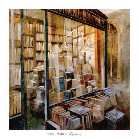 Librairie Art Print