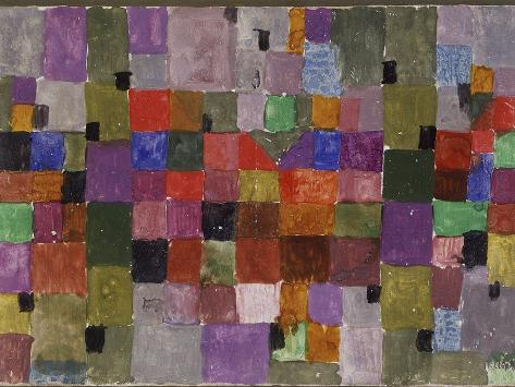 Noerdlicher Ort (Northern City) by Paul Klee Valokuvavedos