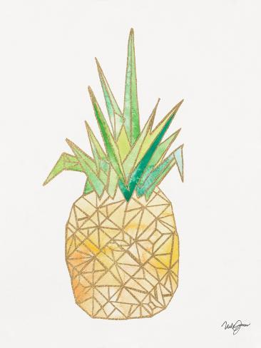 Origami Pineapple Prints By Nola James At Allposters