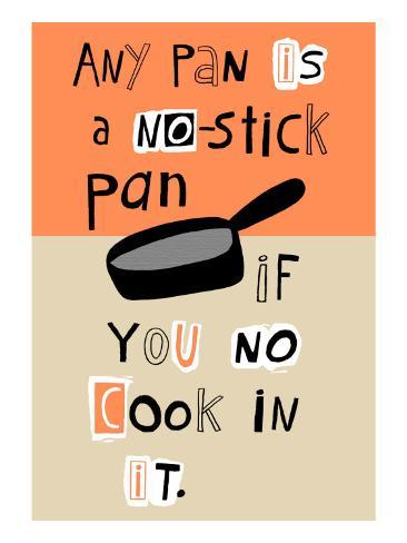 Non-Stick Pan Seinätarra