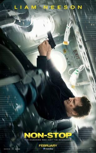 Non-Stop - Liam Neeson advance Double-sided poster