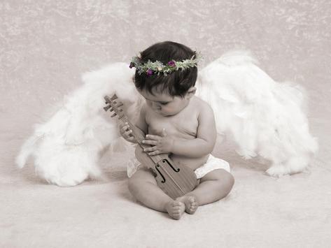 Baby Angel Portrait Giclee Print