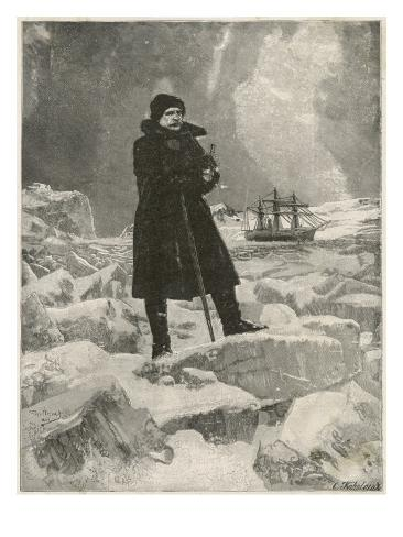 Nordenskiold on Ice Impressão giclée