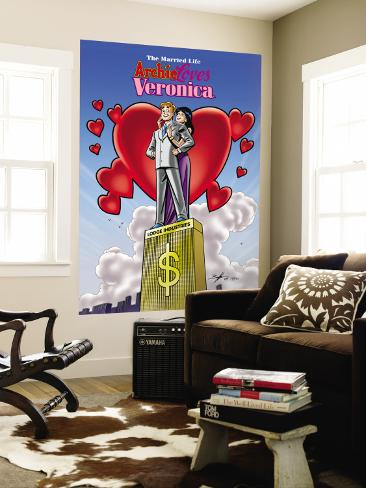 Archie Comics Cover: The Married Life Archie Loves Veronica Wall Mural