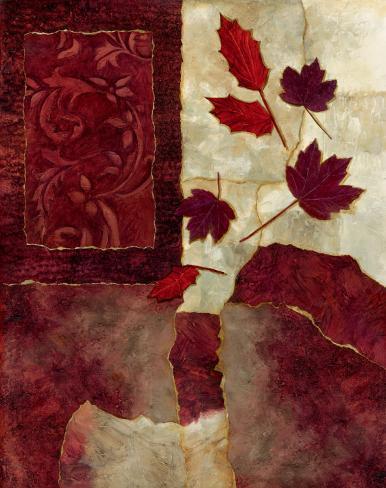 Cranberry Fall I Art Print