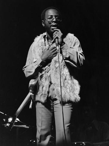 Curtis Mayfield Photographic Print