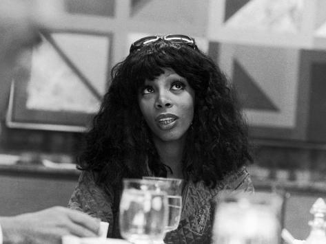 Donna Summers - 1975 Photographic Print