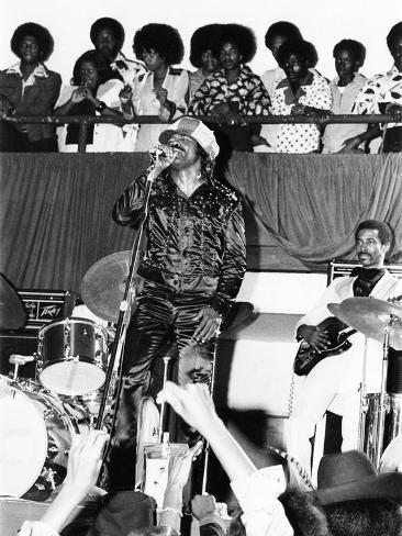 James Brown. - 1974 Photographic Print