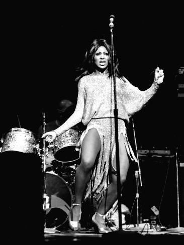 Tina Turner - 1974 Valokuvavedos