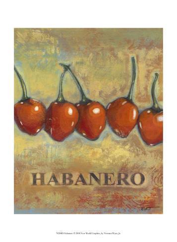 Habanero Art Print