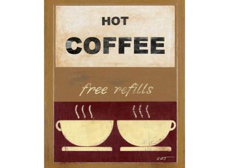 Hot Coffee II Art Print