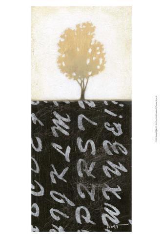 Nature's Diary I Art Print