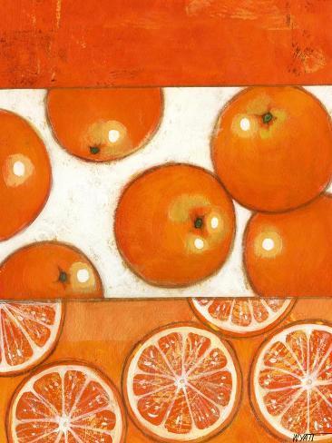 No Text Orange Taidevedos