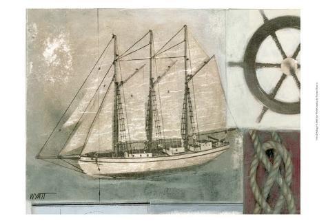 Sailing I Art Print